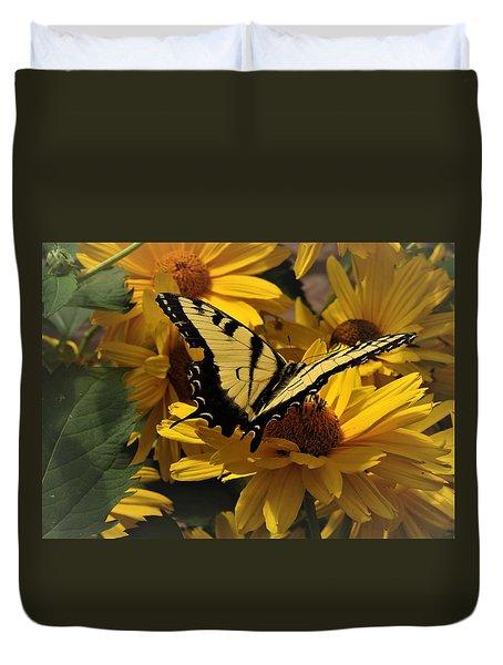 Eastern Swallowtail Duvet Cover