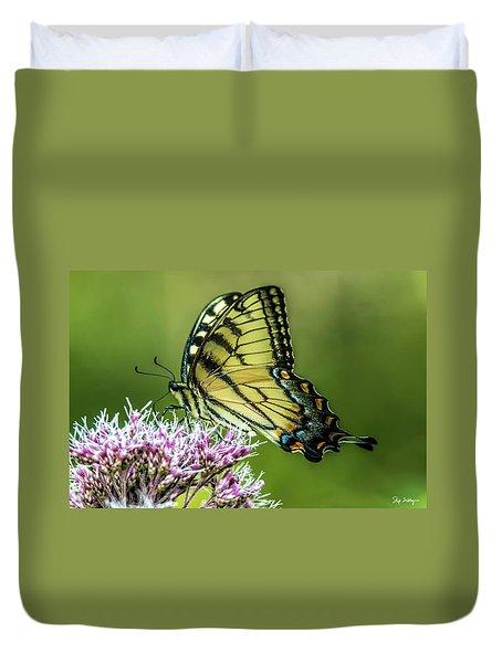 Eastern Tiger Swallowtail Duvet Cover