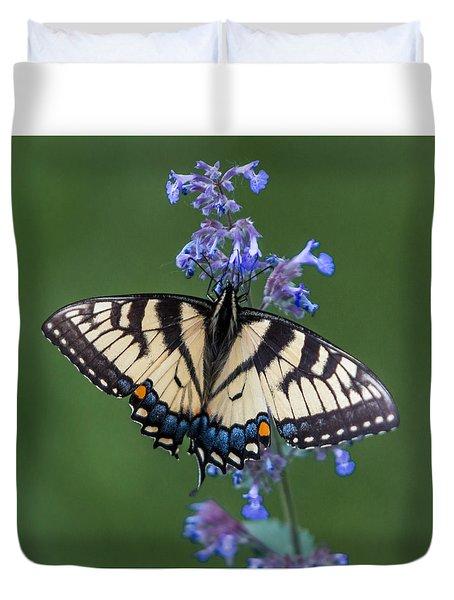 Eastern Tiger Swallowtail Wingspan Duvet Cover