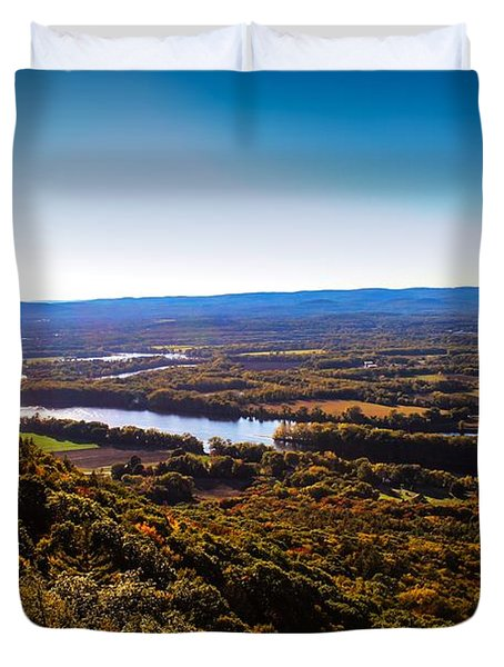 Easthampton View From Summit House Duvet Cover