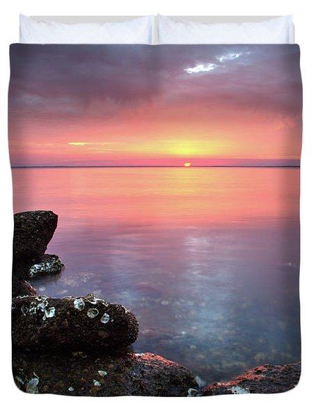 Eastpoint Sunset Duvet Cover