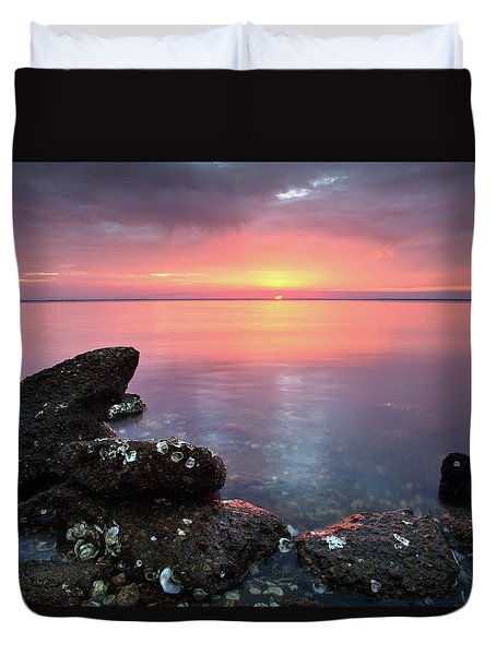 Eastpoint Sunset Duvet Cover