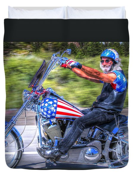 Easy Rider  Duvet Cover