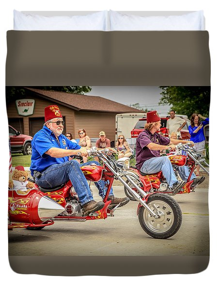 Easy Rider Duvet Cover by Ray Congrove