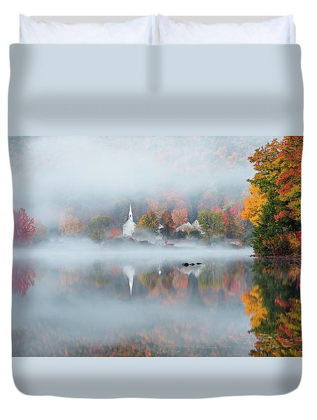 Eaton, Nh Duvet Cover