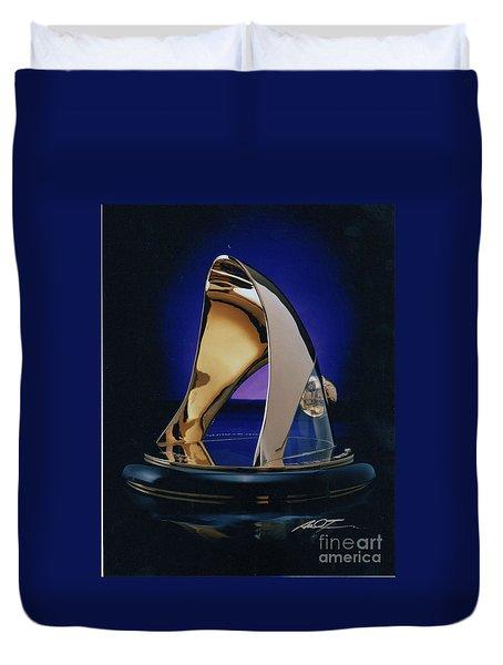 Eaton Quality Award Sculpture  Duvet Cover