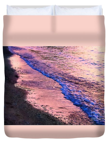 Ebb And Flow Duvet Cover by Andrea Kollo