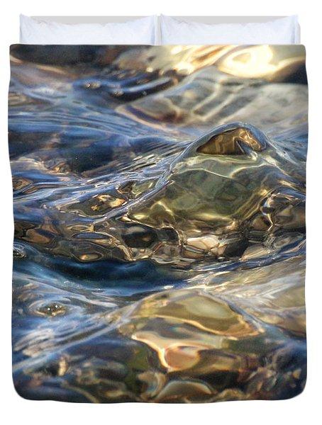 Ebbing Tide 1 Duvet Cover