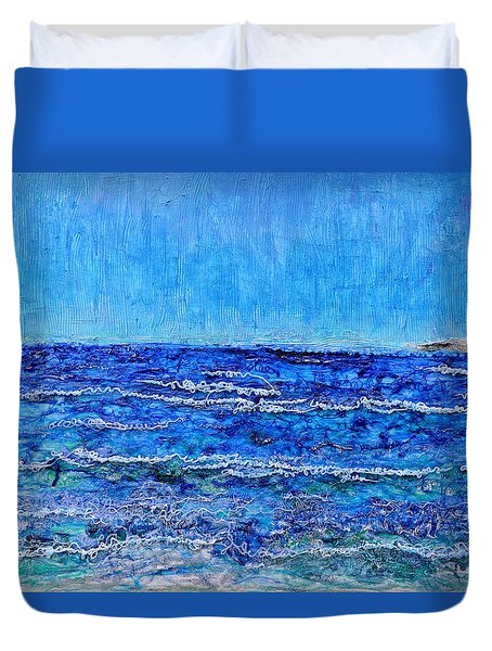 Ebbing Tide Duvet Cover by Regina Valluzzi