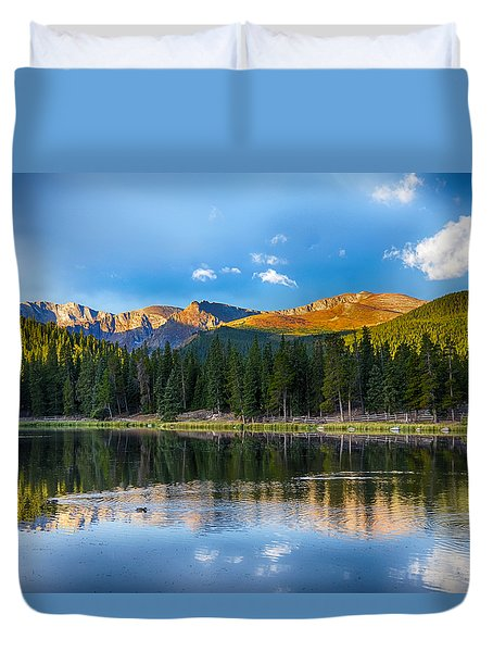 Echo Lake 5 Duvet Cover