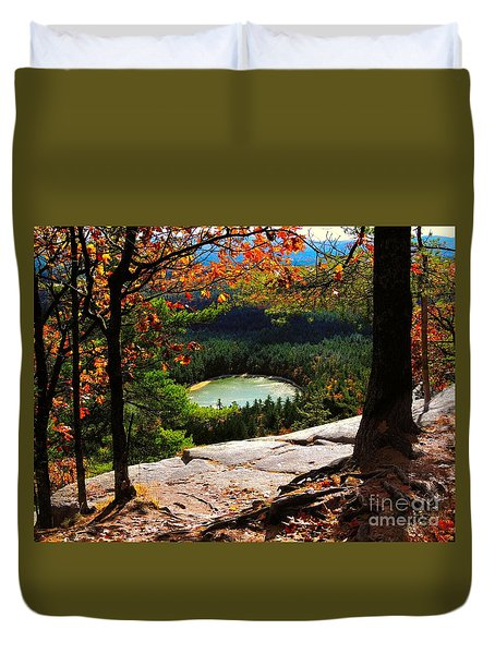 Echo Lake, New Hampshire Duvet Cover