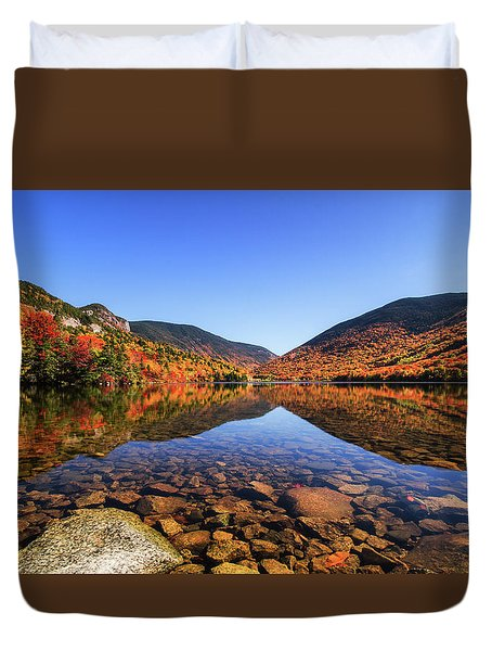 Echo Lake Duvet Cover