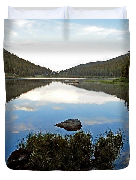 Echo Lake Study 1 Duvet Cover