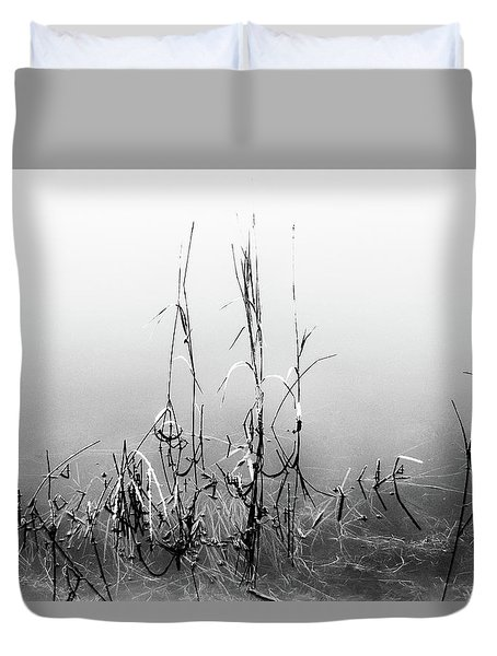 Echoes Of Reeds 1 Duvet Cover