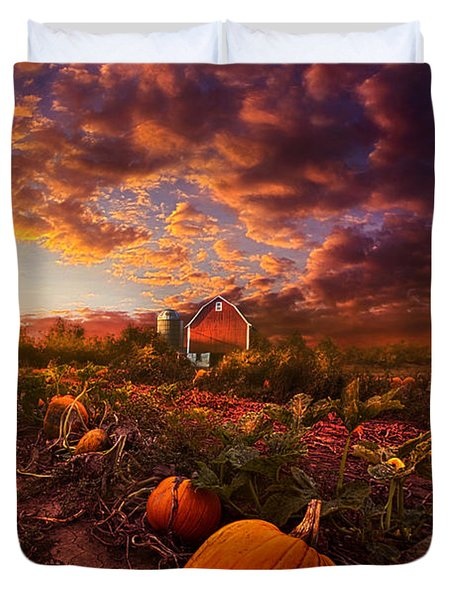 Echos You Can See Duvet Cover by Phil Koch