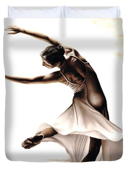 Eclectic Dancer Duvet Cover by Richard Young