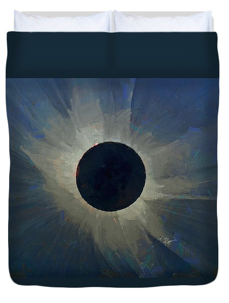 Eclipse 2017 Duvet Cover