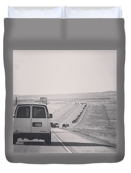 Eclipse Bound Duvet Cover
