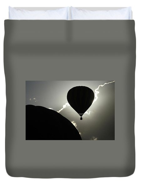 Eclipse Duvet Cover by Marie Leslie