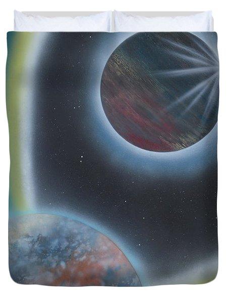 Eclipsing Duvet Cover