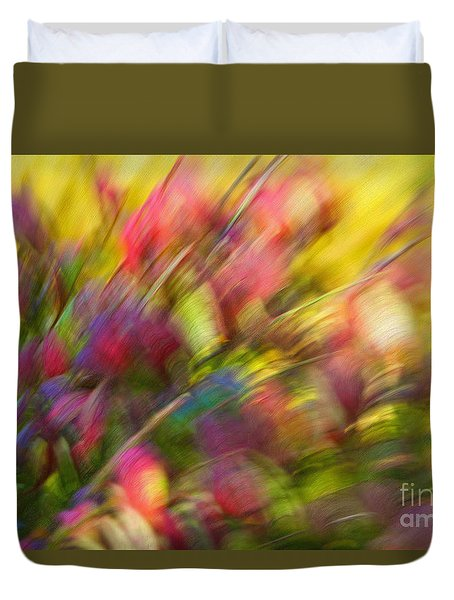 Ecstasy Duvet Cover by Michelle Twohig