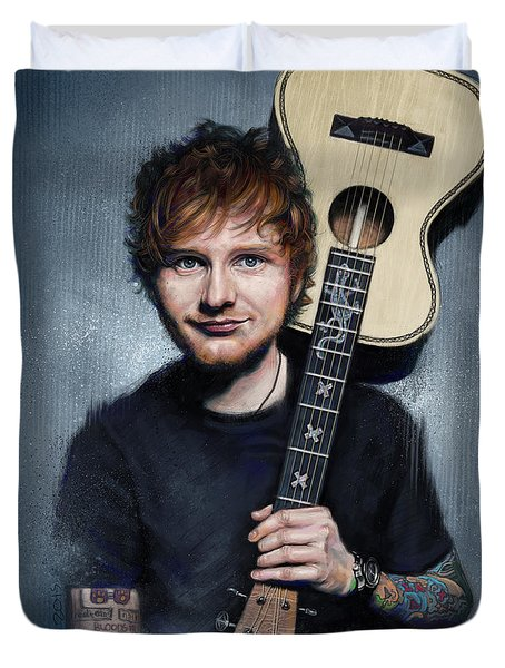 Ed Sheeran Duvet Cover