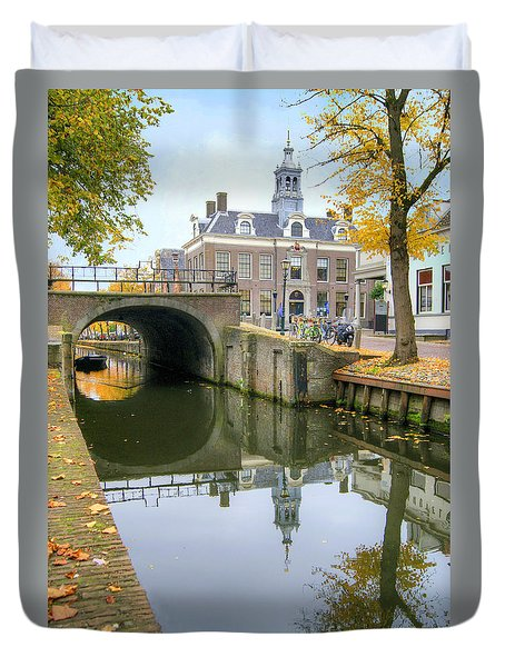 Edam Town Hall Duvet Cover