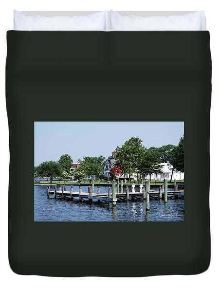 Edenton Waterfront Duvet Cover