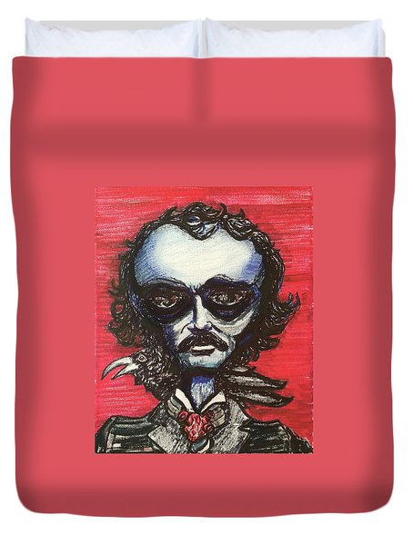Edgar Alien Poe Duvet Cover