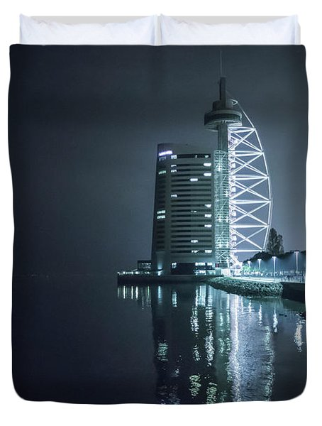 Edge Of Darkness Duvet Cover