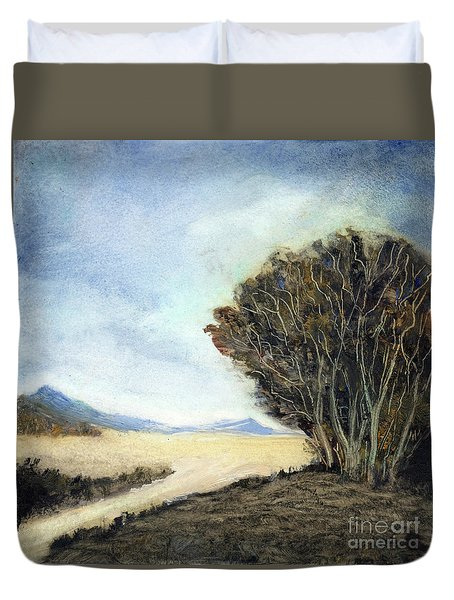 Edge Of The Mohave Duvet Cover