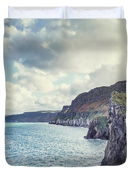 Edge Of The Sea Duvet Cover