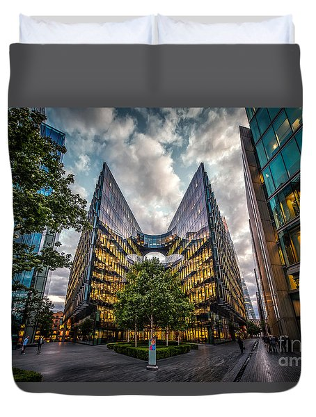 Edges Duvet Cover by Giuseppe Torre