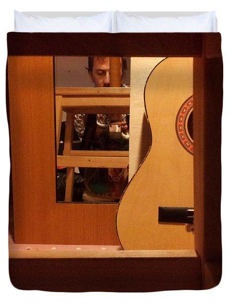 Edgeworth Acoustic Guitar Duvet Cover