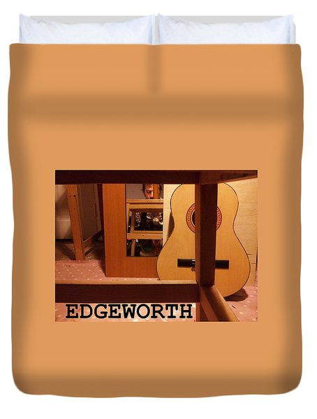 Edgeworth Acoustic Guitar Duvet Cover