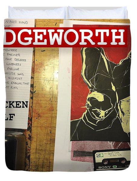 Edgeworth Chicken Shelf Cover Duvet Cover