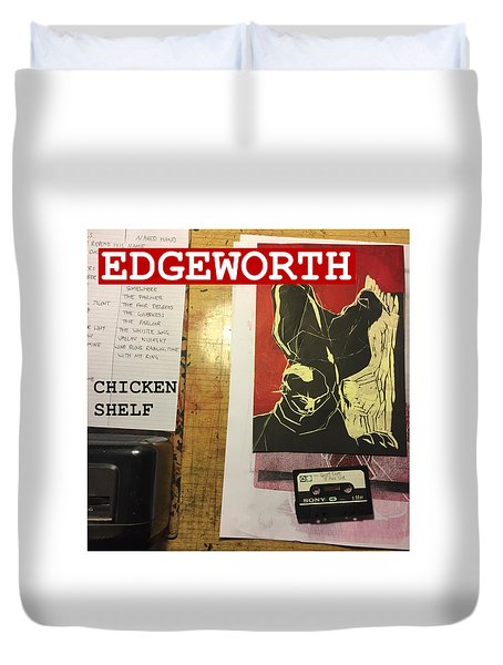 Edgeworth Chicken Shelf Cover Duvet Cover