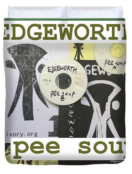 Edgeworth Pee Soup Album Cover Design Duvet Cover