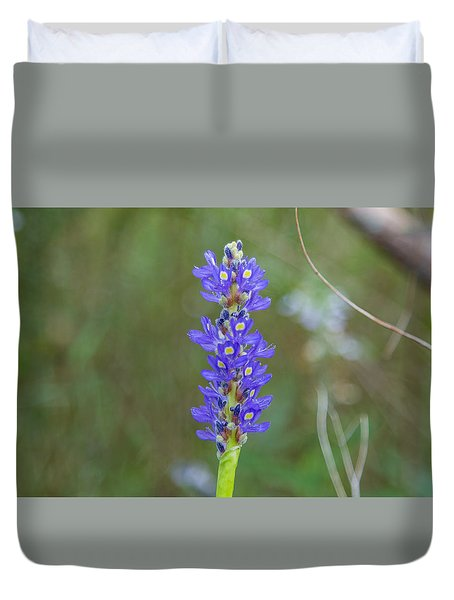 Edible Pickerel Weed Duvet Cover