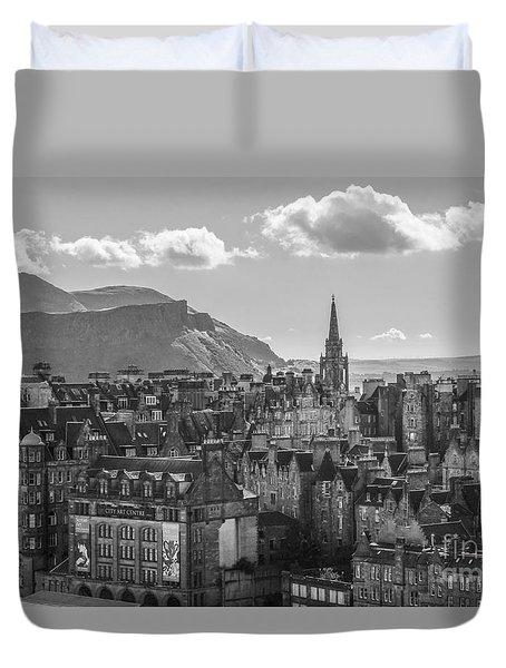Edinburgh - Arthur's Seat Duvet Cover