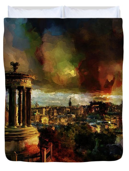 Edinburgh Scotland 01 Duvet Cover