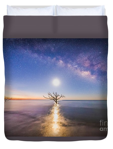 Edisto Island Milky Way Duvet Cover