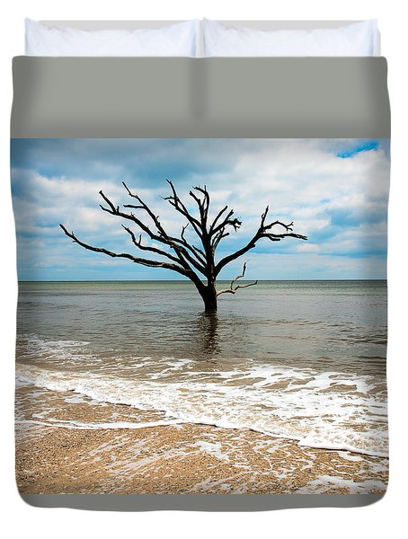 Edisto Island Tree Duvet Cover