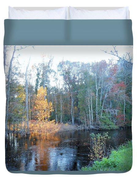 Edisto River Duvet Cover