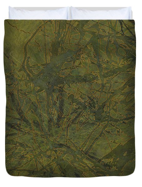 Edition 1 Kelp Duvet Cover