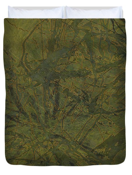 Edition 1 Kelp Duvet Cover