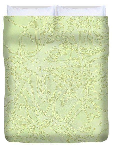 Edition 1 Lime Sorbet Duvet Cover