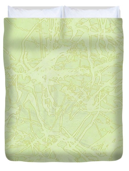Edition 1 Lime Sorbet Duvet Cover