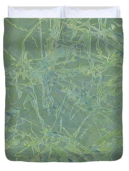 Edition 1 Sea Foam Duvet Cover