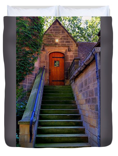 Duvet Cover featuring the photograph Edsel Ford Mansion by Michael Rucker